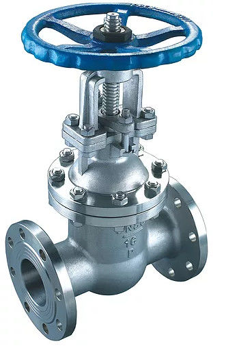 Compact Structure API 600 Gate Valve Smooth Passageways Low Flow Less Resistance